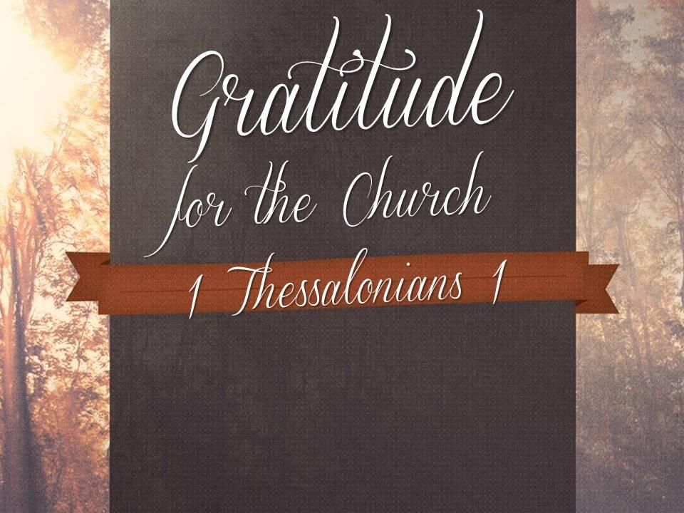 Gratitude for the Church