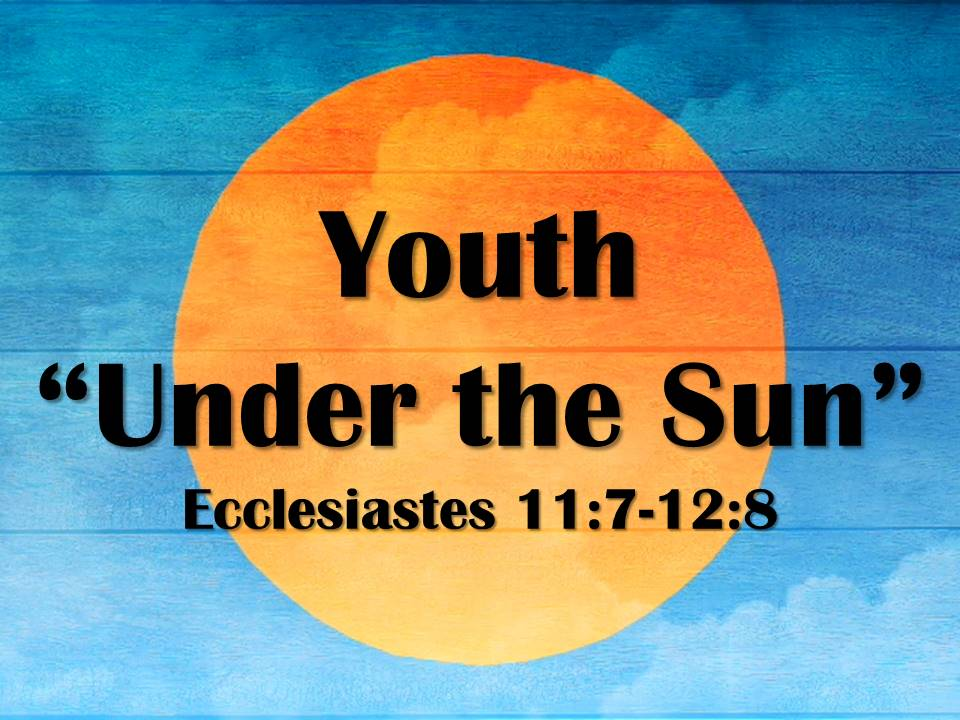 "Youth ""Under the Sun"""