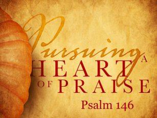 Pursuing a Heart of Praise #1