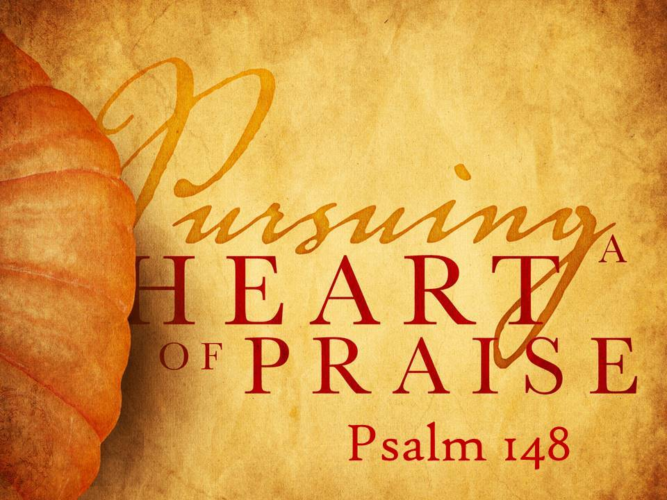 Pursuing a Heart of Praise #3