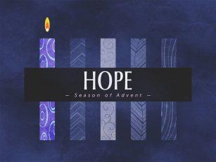 Season of Advent- Hope