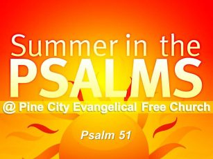 Summer in the Psalms- Psalm 51