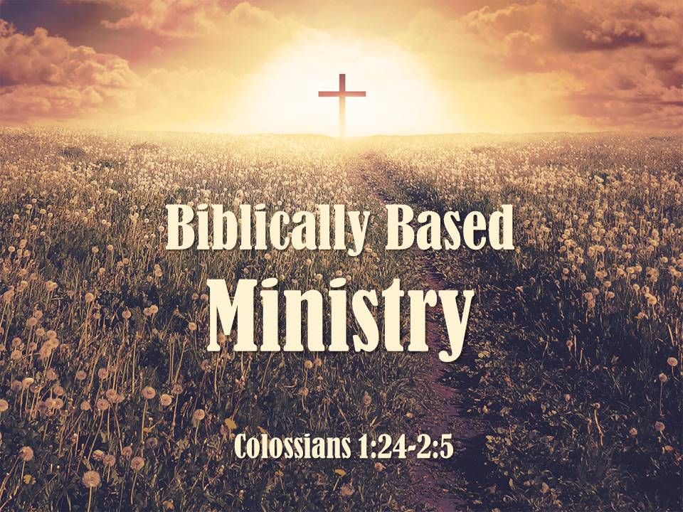 Biblically Based Ministry